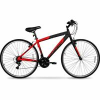 Mens Hybrid Bike Street Urban City Cruiser Road Ride Commuter Mountain Bicycle