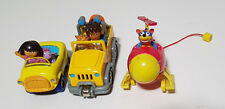 DORA THE EXPLORER AND FRIENDS VEHICLES DIECAST CARS TOYS!