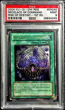 Yu-Gi-Oh! PSA 1st Ed. 'Necklace of Command' ULTIMATE RARE (RDS-EN040) LOW POP