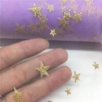 15cm DIY 10Yards Star Tulle Glitter Tulle Mesh Roll Spool Tutu Pom Wedding Decor