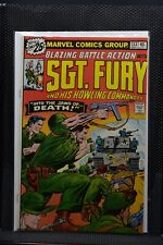 Sgt Fury and His Howling Commandos #132 Marvel 1976 Stan Lee Blazing Battle 9.0
