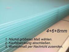 Glasboden, Glasscheibe, Glasplatte, Zuschnitt Milchglas satiniert /max. 450€/m²