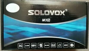 Solovox M3s/openbox v8s satellite receiver-new and sealed-