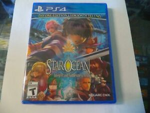 STAR OCEAN: INTEGRITY AND FAITHLESSNESS FOR PLAYSTATION 4 PS4 BRAND NEW SEALED!