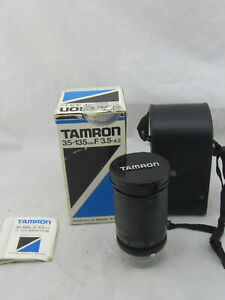 Tamron 22A 35-135mm F3.5-4.2CF Tele-Macro Zoom Lens Adaptall 2 Mount System