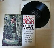 LP JAN & DEAN - FOLK 'N ROLL - LIBERTY 1965 - LBY1304