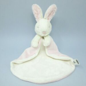 Jellycat Bobtail Bunny Pink Soother blankie comforter soft toy Little Jellycat