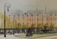 Elegant Ville Jardin Square Aquarelle Paris/Londres