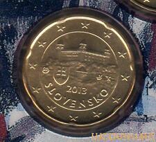 Slovaquie - 2013 - 20 Centimes d'euro FDC Provenant BU 28000 exemplaires - Slove