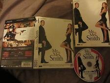 Mr. & Mrs. Smith de Doug Liman avec Brad Pitt et Angelina Jolie, DVD, Action