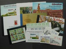 GIBRALTAR. SELECTION OF BOOKLETS ETC