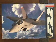 COLOR Glossy F-22 Aircraft -circa 1990s