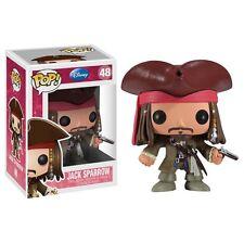 "Funko Disney JACK SPARROW Pirates of Carribean JOHNNY DEPP 3.75"" POP FIGURE MINT"