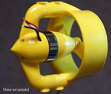 ROV thruster 3D printed nozzle for DT700 motor. DIY ROV boat surf. 3,5 kg trust