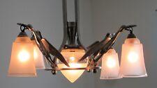 Art Déco - Kranich - Deckenlampe - Hängeleuchte - ca. 1935