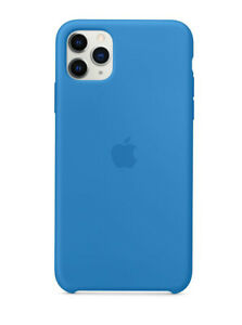 iPhone 11 Pro Max Soft Clean Silicone Protective Cover Case
