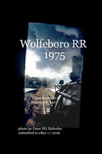Boston & Maine RR former line Wolfeboro RR 250 at Cresent Lake NH 1975