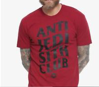 Star Wars Sith Club T-Shirt BURGUNDY New