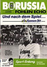BL 85/86 Borussia Mönchengladbach - Fortuna Düsseldorf, 21.09.1985, Kurt Pinkall