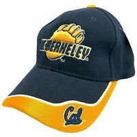 NCAA by Colosseum UC Berkeley Navy Cal. Bears Embroidered Strap-Back Game Hat