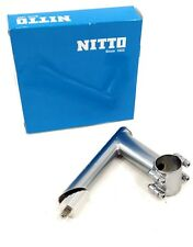 Nitto Ui-12 Bicycle Quill Stem, 31.8, 71d x 90mm, Silver
