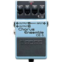 BOSS CE-5 Stereo Chorus Ensemble Hi Low Cut Filter Guitar Effects Stompbox Pedal