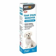 VetIQ Tear Stain Remover 100ml - For Dogs & Cats, Safe & Gentle