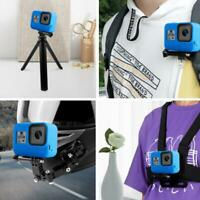 For Gopro Hero 8 Camera Soft Silicone Protective Case&Lanyard accessories Q8I0
