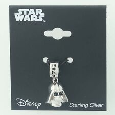 New Darth Vader Pendant Charm Star Wars Jewelry Disney Sci-Fi 3D Sterling Silver