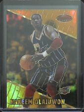 1999-2000 Bowman's Best Atromic Refractor #40 Hakeem Olajuwon No 78 of 100