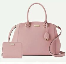 Kate Spade Tilden Place Sloan Dusty Peony Handbag Pink Leather
