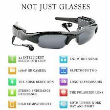 1080P HD Smart Sunglasses Sports DV Bluetooth Music Photos Polarized Glasses