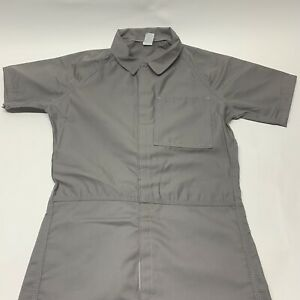 Authentic Prison Jail Jumpsuit Michael Myers Costume Gray Small USA Halloween