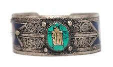 Turquoise Bracelet Coral Bracelet Lapis Silver Bracelet Tribal Gypsy Bracelet