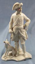 Vieja Fritz con viento juego viento perro ens porcelana figura personaje porcelana Volkstedt