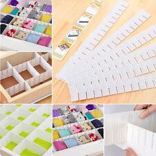 6pcs Kunststoff DIY Schublade Schubladenteiler Schubladeneinteiler Schrank Grid