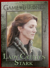 GAME OF THRONES - LADY CATELYN STARK - Season 3, Card #51 - Rittenhouse 2014