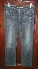 Women's Sz 28 Big Star Sweet Ultra Low Rise Stretch Distressed Jeans