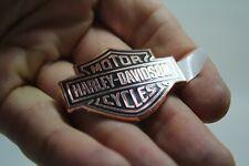 "Bar & Shield bronze Harley medallion 1.75"" Softail FL Dyna fender badge EPS22337"
