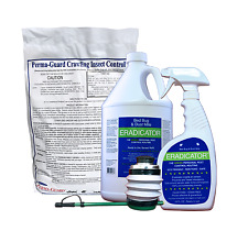 ERADICATOR Bed Bugs & Dust Mites Killer Diatomaceous Earth Insect Control Duster