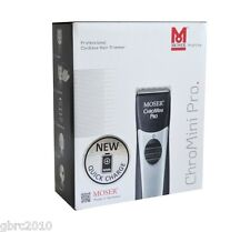 Moser 1591 ChroMini Pro Cordless Hair Trimmer 1591-0062 Black