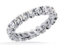 1.11 carat Round Diamond Eternity Band 14k Gold Wedding Ring 22 x 0.05 ct each