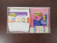 Post It Pop Up Note Dispenser 3 X 3 And 3 Pk Of 90 Sheets Post It Notes 5c