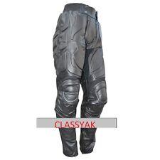 Classyak Batman Dark Knight Rises Real Leather Motorcycle Leather Pant, Xs-5xl