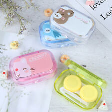 Contact Lenses Storage Box Cute Contact lens Case Box Eyes Care Kit Cleaner JR