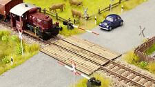 NOCH TT 14424 Passage à niveau madriers en bois neuf emballage scellé