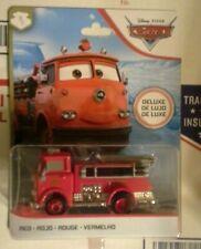Disney Pixar Cars Red Fire Truck Deluxe