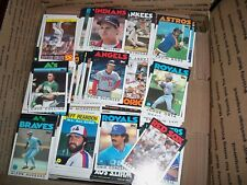 1986 Topps Lot of Approximately 5,000 Perfect for Set Builders