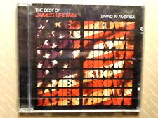 THE BEST OF JAMES BROWN  -  LIVING IN AMERICA  -  CD 2006  NUOVO E SIGILLATO