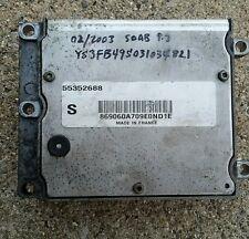 2003 2004 2005 2006 2007 SAAB 9-3 93 ECM ENGINE CONTROL MODULE Computer 55352688